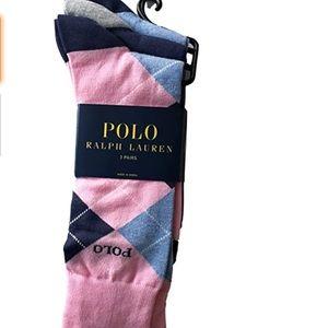 POLO Ralph Lauren Argyle Trouser Socks